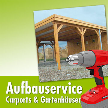 Aufbauservice carports gartenh user herkules bau for Carport angebote baumarkt