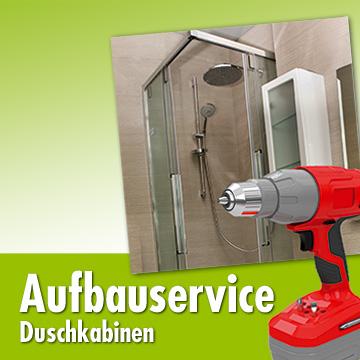 Aufbauservice Duschkabinen - HERKULES Bau&Garten-Markt